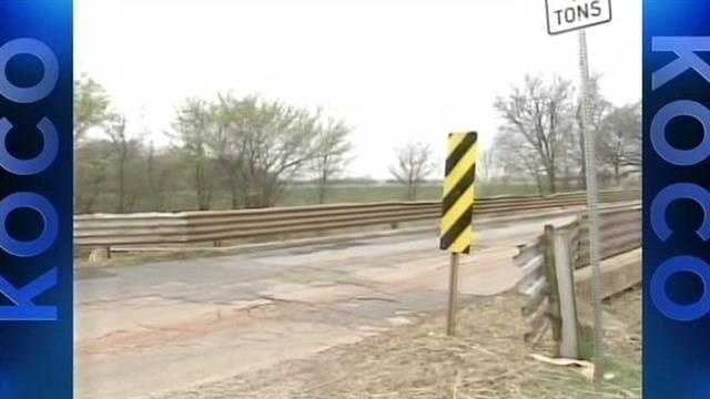 A report says Oklahoma has the 2nd worst bridges in the country and today ODOT will talk about what the department is doing to deal with the problem.