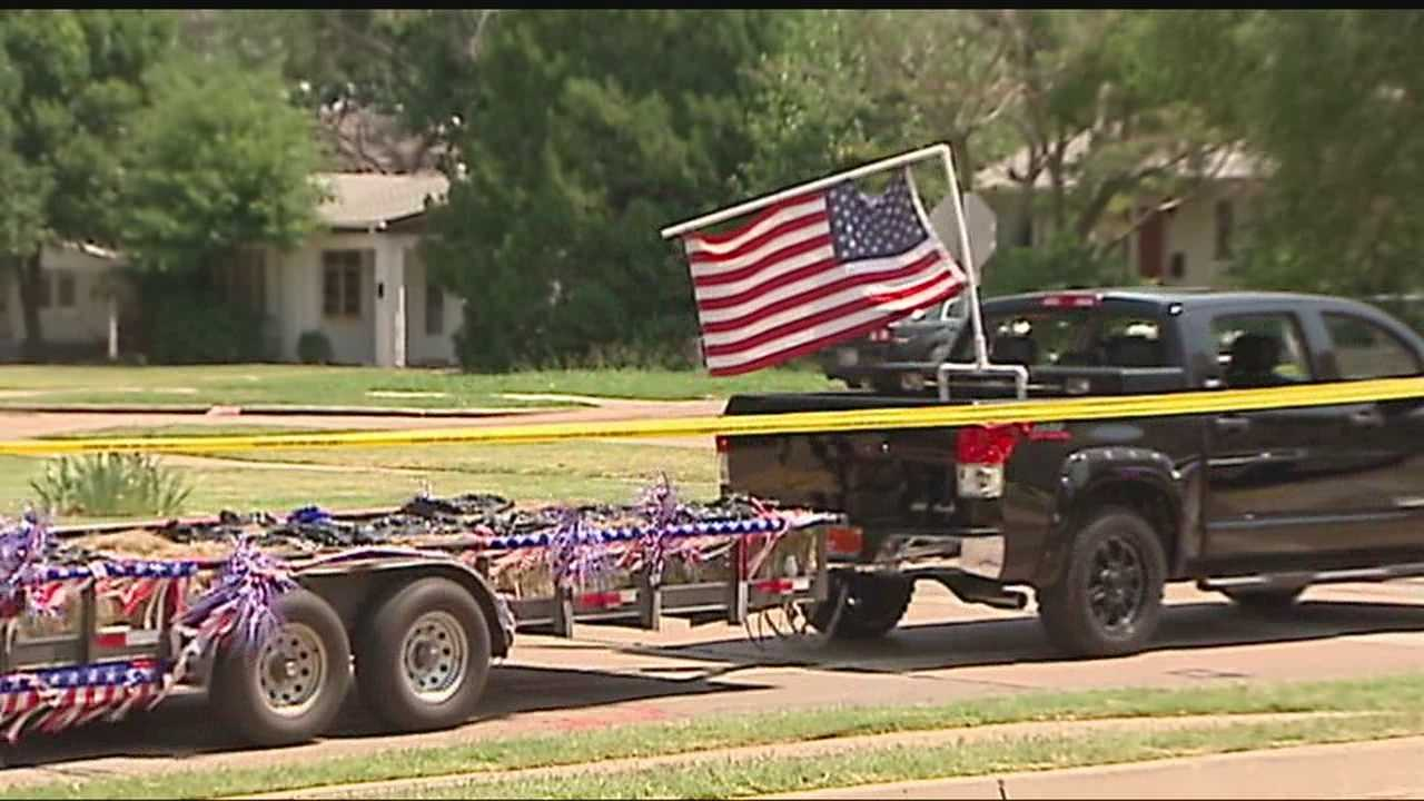 An 8 Year-old is killed in an accident in the LibertyFest parade.  Police say it's unclear if the child jumped or fell of the trailer.