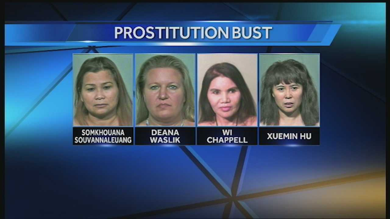 Warr Acres police and the Oklahoma Bureau of Narcotics ran a sting after complaints of prostitution.