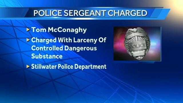 Stillwater police sergeant accused of stealing drugs