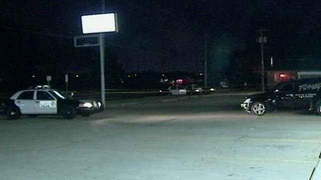 A wild scene overnight in Oklahoma City.  A man says he escaped a bullet during an attempted carjacking.
