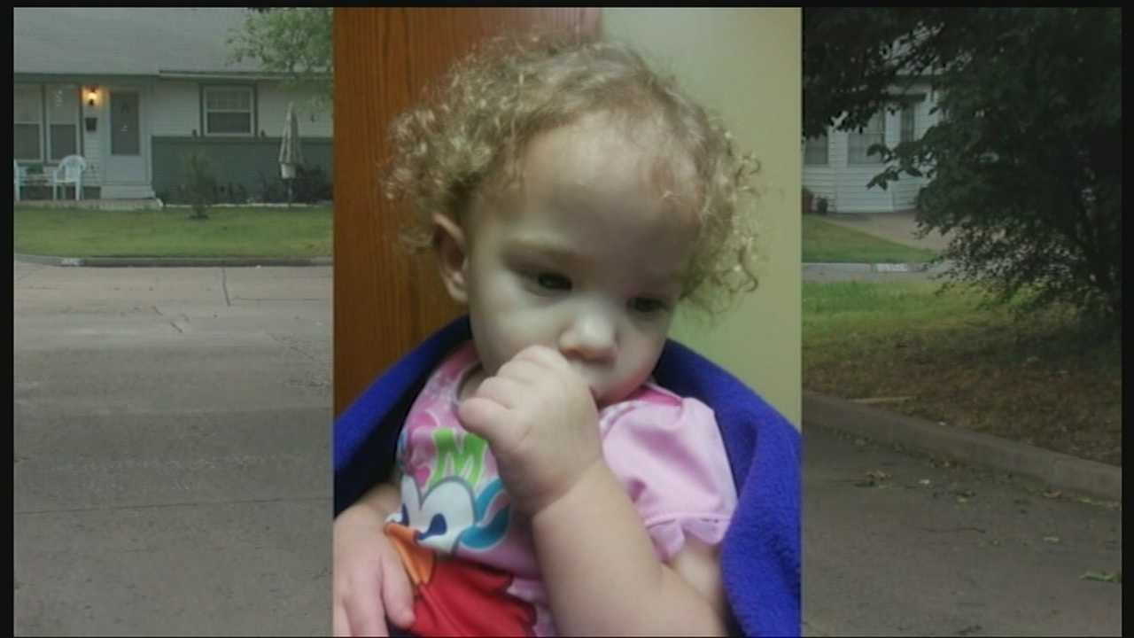 Authorities are searching for the parents of a toddler who was found wandering alone in a north Tulsa neighborhood. Police said the girl is believed to between 18 months and 2 years old and did not show any signs of neglect or abuse. Latoria Simmons said she discovered the child walking alone outside her home at about 10:30 p.m. Monday.
