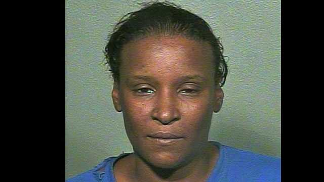 Marquetta Barnett, 42, was arrested after Oklahoma City police said she set an article of her boyfriend's clothing on fire. Click here to find out which one.