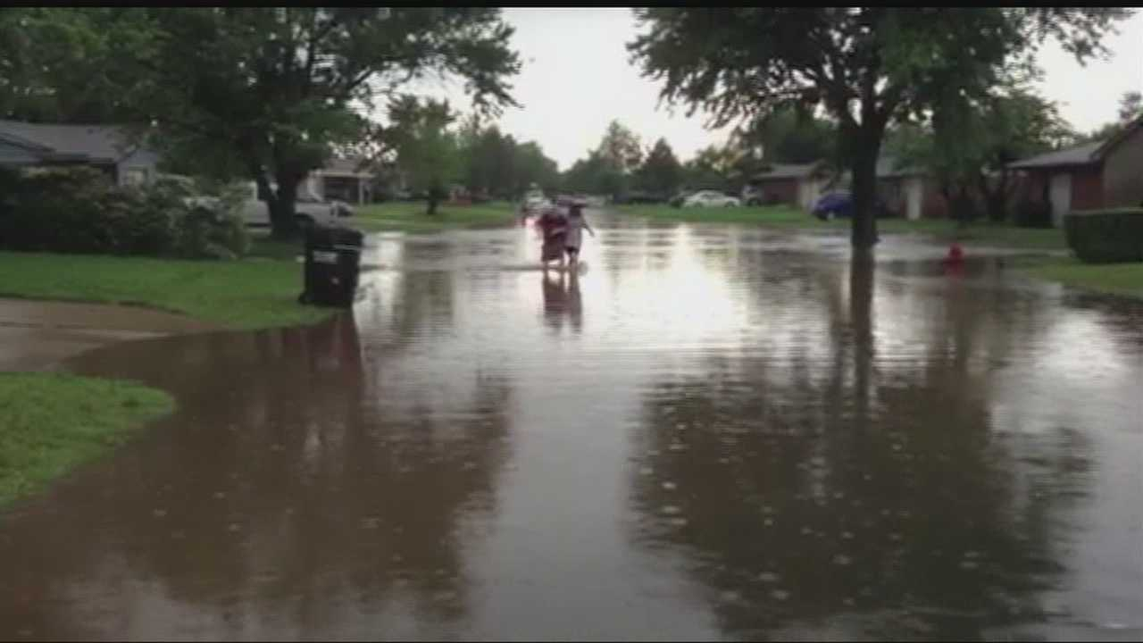 Oklahoma City crews are working around to clock to make sure streets, creeks and lakes are ready for potential flash floods.