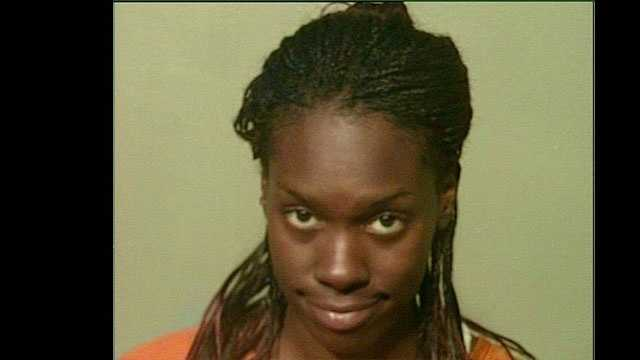 Jerrica Cherry, 26, arrested on suspicion of being a prostitute.