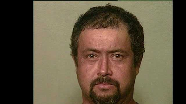 "Manuel Gonzales, 39, arrested on suspicion of being a ""John""."