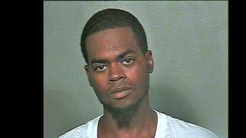 Rodney Hines, 23, arrested on suspicion of being a pimp.