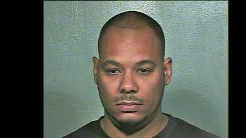 Ronald Harold Jay, Jr., 37, arrested on suspicion of being a pimp.