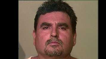 "Rene Rangel, 48, arrested on suspicion of being a ""John""."