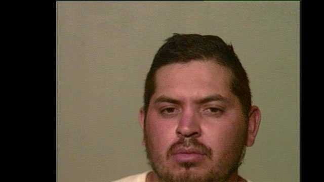 "Reyes Rodriguez, 29, arrested on suspicion of being a ""John""."