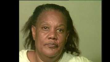 Michelle Denise Taylor, 52, arrested on suspicion of being a prostitute.
