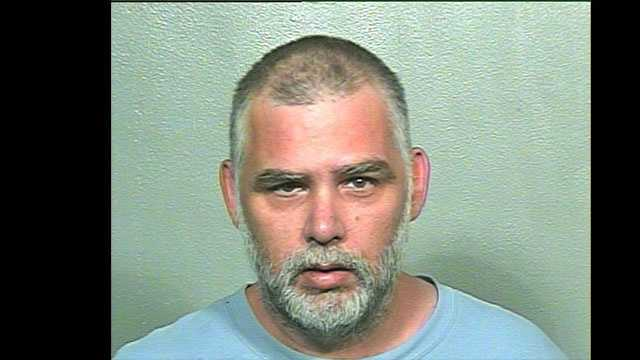 Anthony Dill, 45, was arrested on complaints of first-degree arson after police said he called 911 and admitted to setting his house on fire. Click here to see what he actually set on fire.