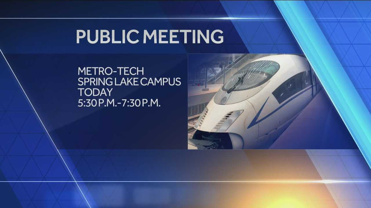 ODOT will have a public meeting concerning the impact of a train connecting two of Oklahoma's  largest cities.