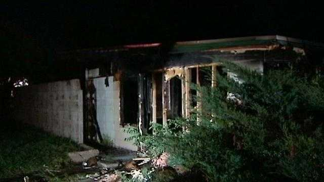Arson investigators responded to a pair of suspicious house fires in Northeast Oklahoma City this morning.  No one was hurt and both homes were vacant.