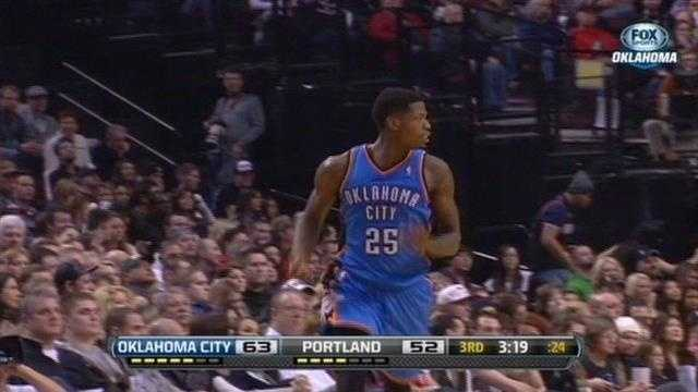 Thunder guard faces uncertain future after arrest