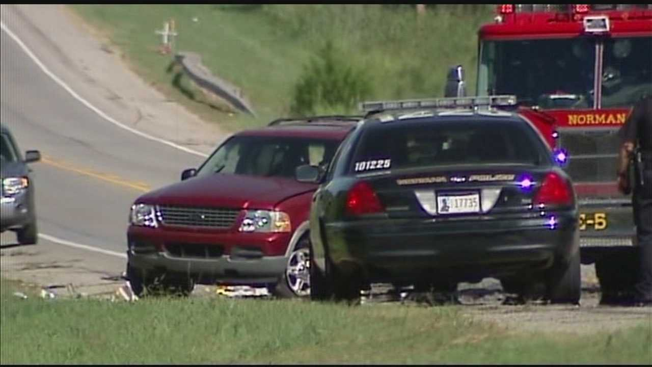 img-Driver arrested in fatal Norman crash that killed child 6P H