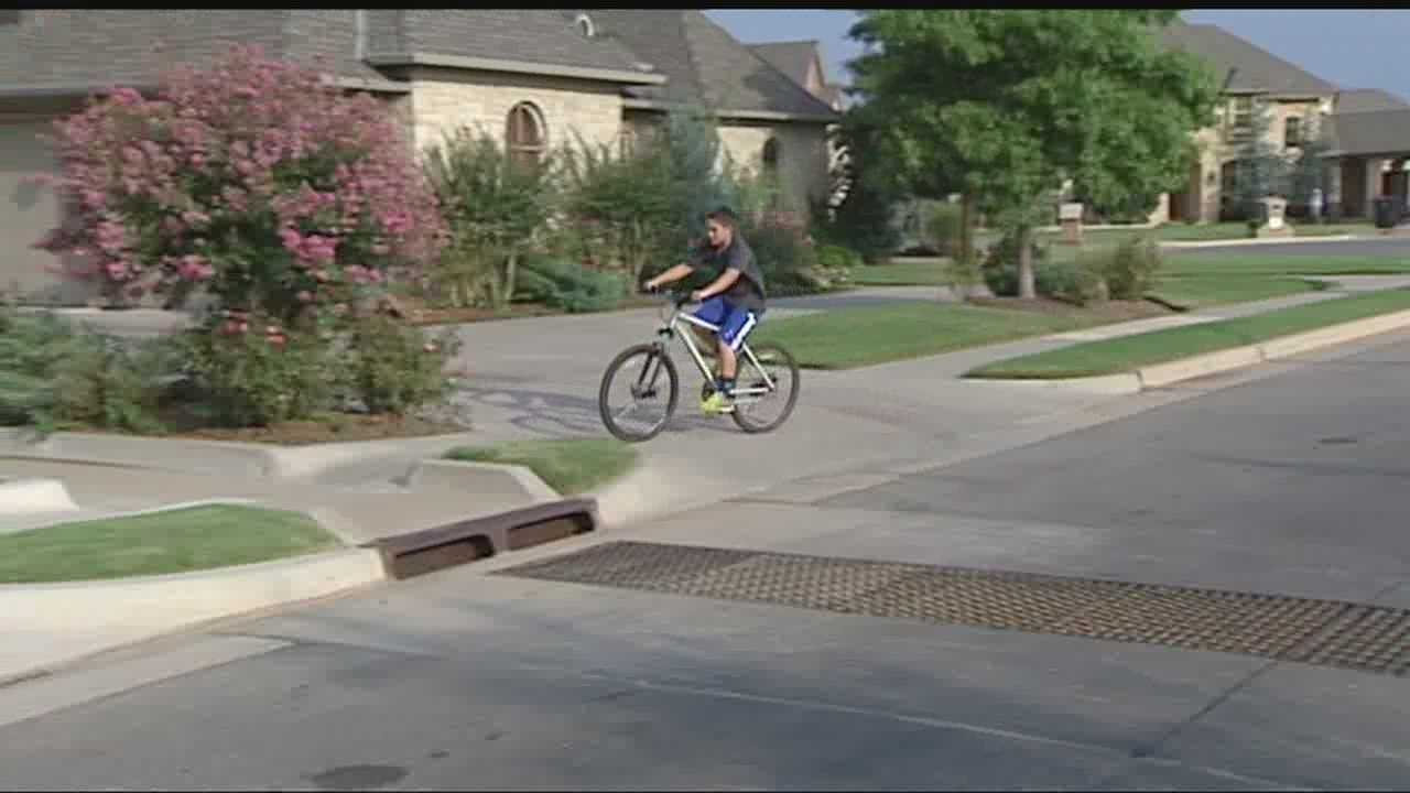 A south Oklahoma City mother is accusing her neighbor of attacking her 11-year-old son.
