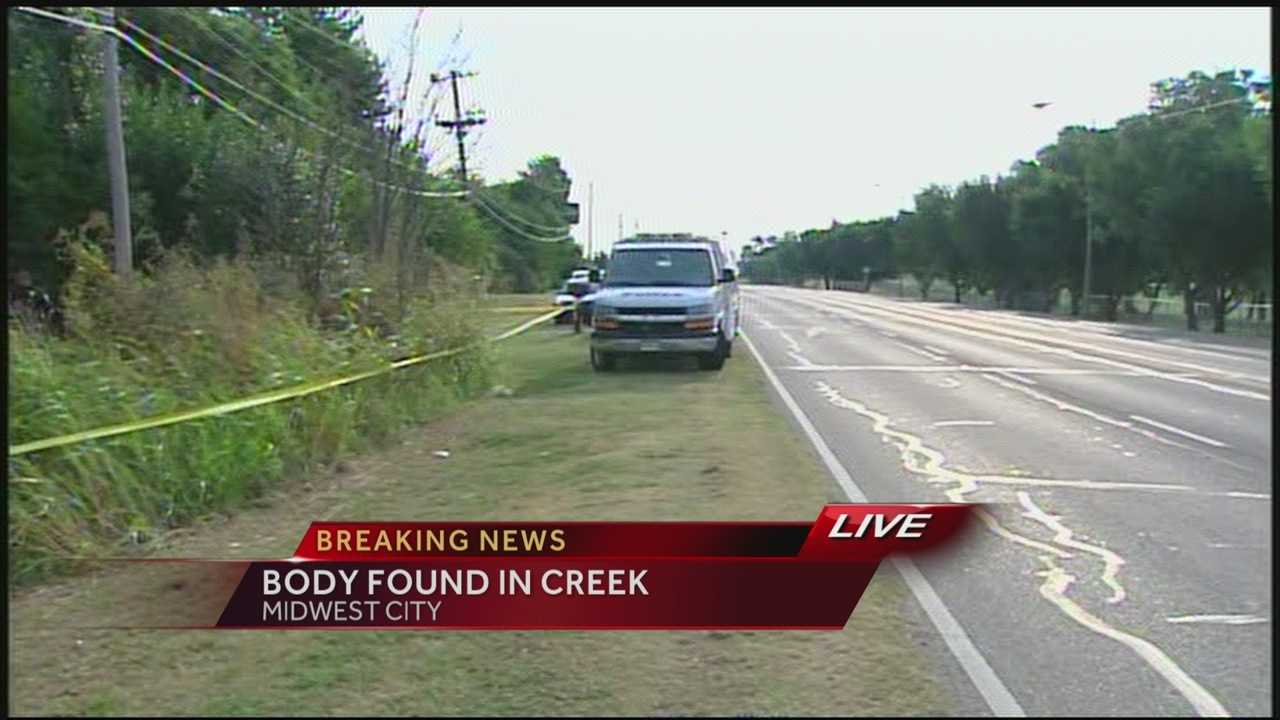 Body found in Midwest City creek