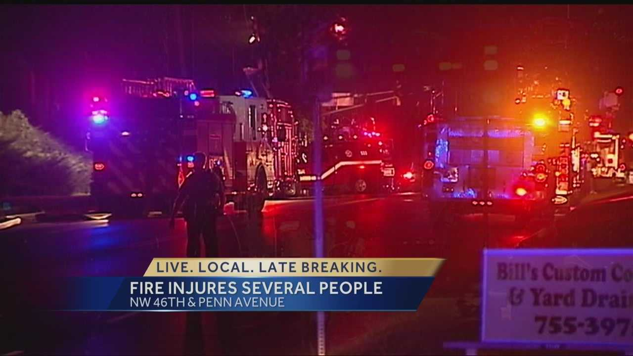 Several people were transported for smoke inhalation after an early-morning apartment fire Thursday.