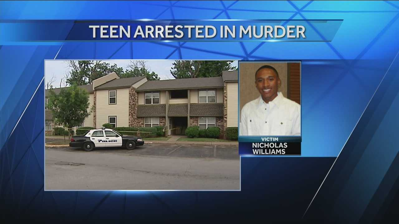 Police say a 17 year-old could be charged as an adult in the murder of Nicholas Williams.