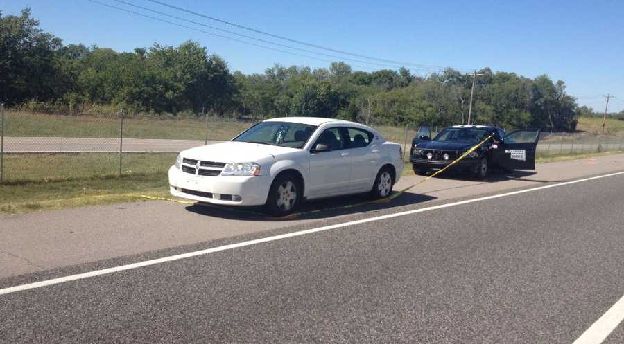 Authorities with the Oklahoma Highway Patrol said they're investigating a shooting involving a trooper Sunday in Norman.