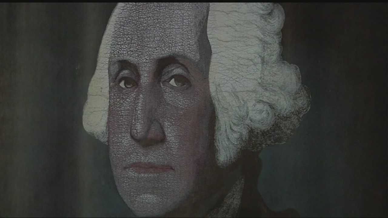 A painting stolen by graduates of a high school in Durant in 1970 has returned.
