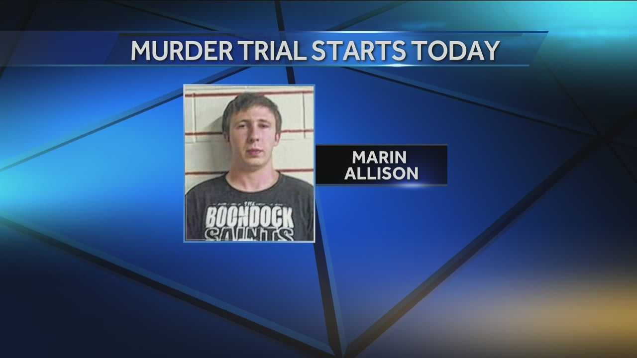 The trial starts today for the Oklahoma man charged with murder in the death of his 14-month-old. Investigators say they foundonline searches for head injuries at the suspect's home.