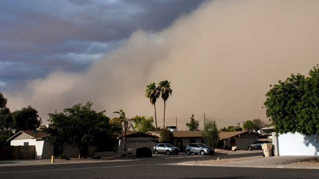 Haboob: An intense dust storm