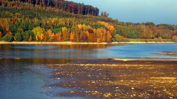 Indian summer: a period of unusually dry, warm weather occurring in late autumn.