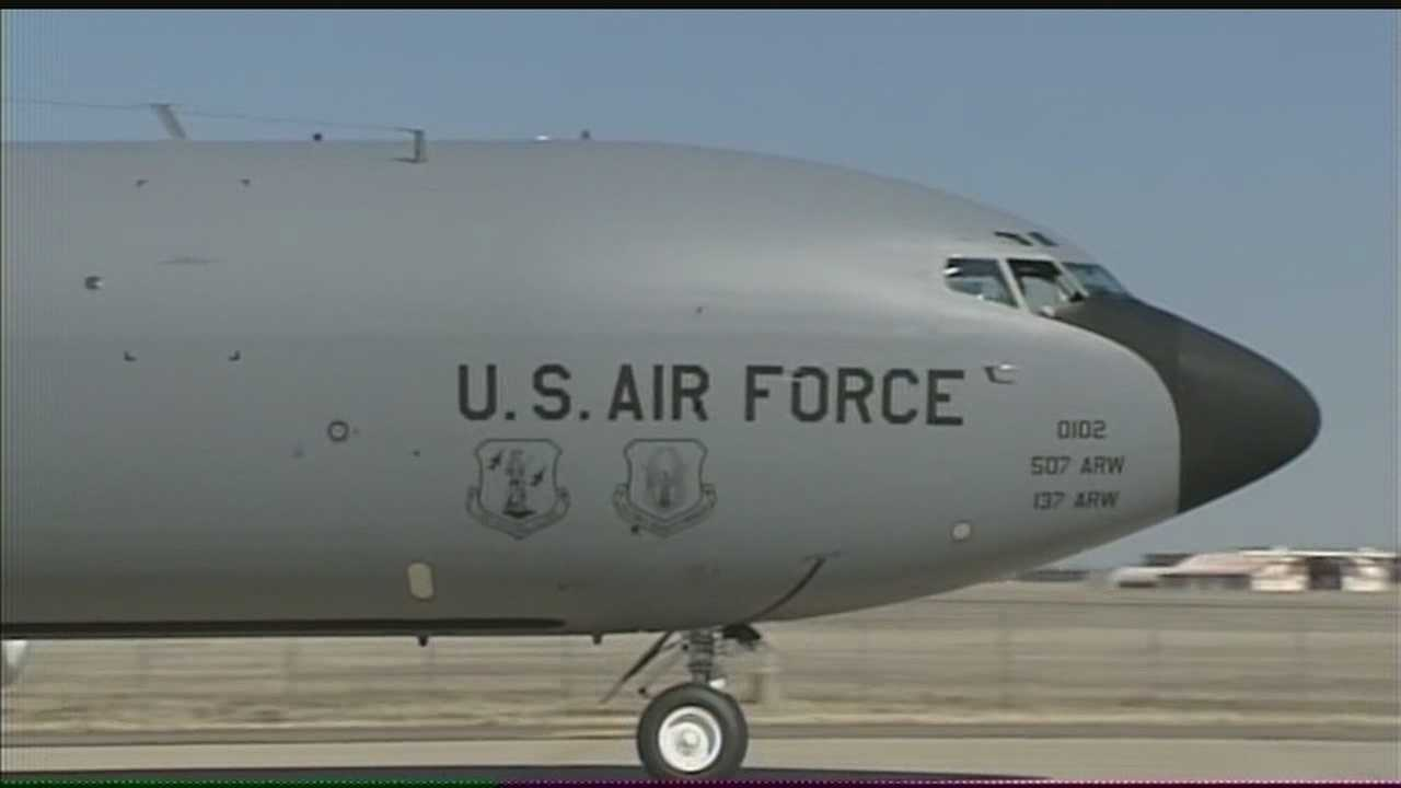 Tinker Air Force Base told Air Force Material Command workers to return to duty on Monday.