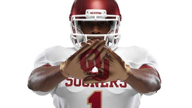 The new OU/Texas uniforms had everyone talking this week. The players on both teams were excited for the new uniforms, which have gold trim in homage of the Golden Hat trophy.