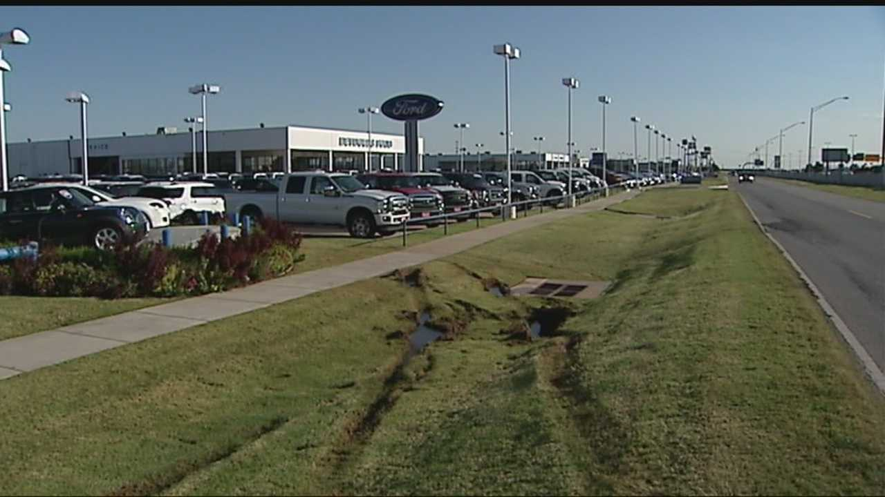 Reynolds Ford in Norman offers reward for stolen vehicles