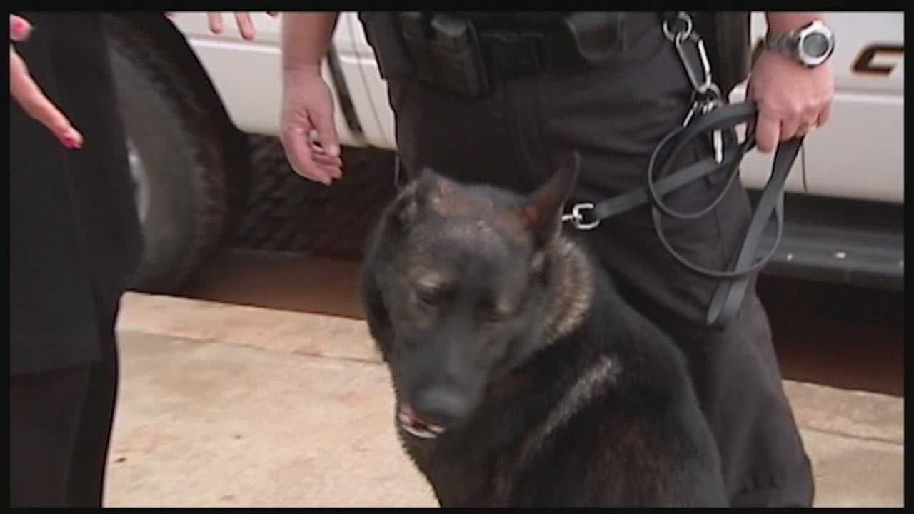 Logan County got two new K-9 officers to help fight crime.