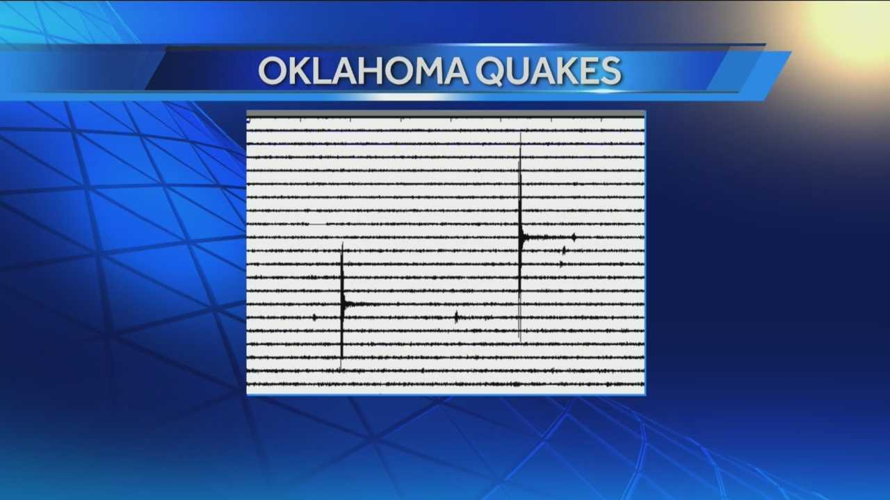 Two small quakes rattle Oklahoma County early Saturday morning.  One homeowner evens says the earthquakes damaged his home.