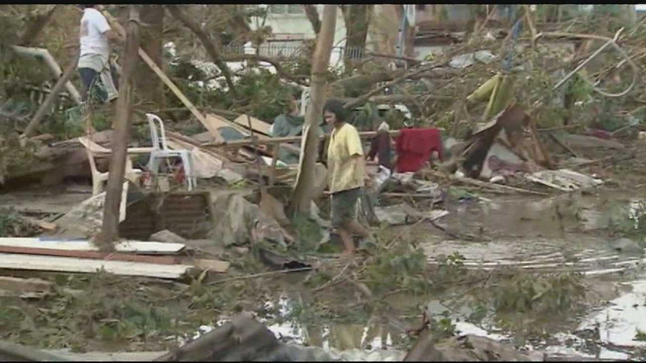 KC woman trying to account for family after Philippines typhoon img