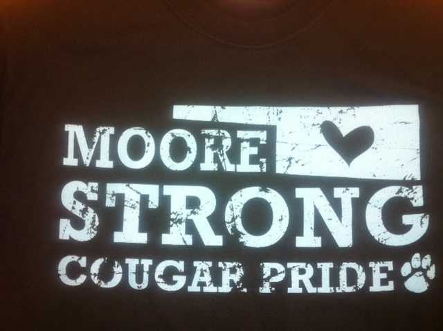 Highland East students sold these shirts to raise money for the school.
