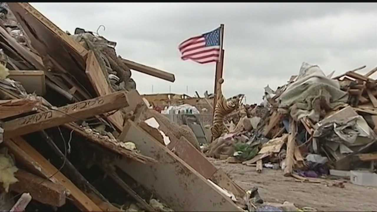 The Shipman family is focused on rebuilding six months after the Moore tornado destroyed their home.