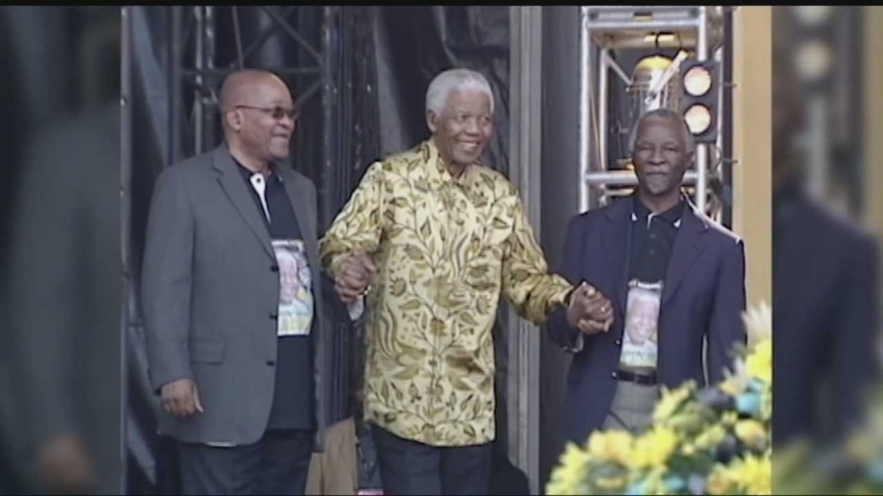 A Metro woman is reflecting on her work with Nelson Mandela.