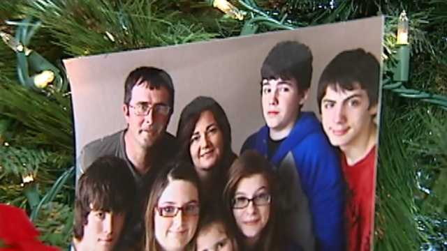 Moore family whose house was destroyed in tornado moves into new home