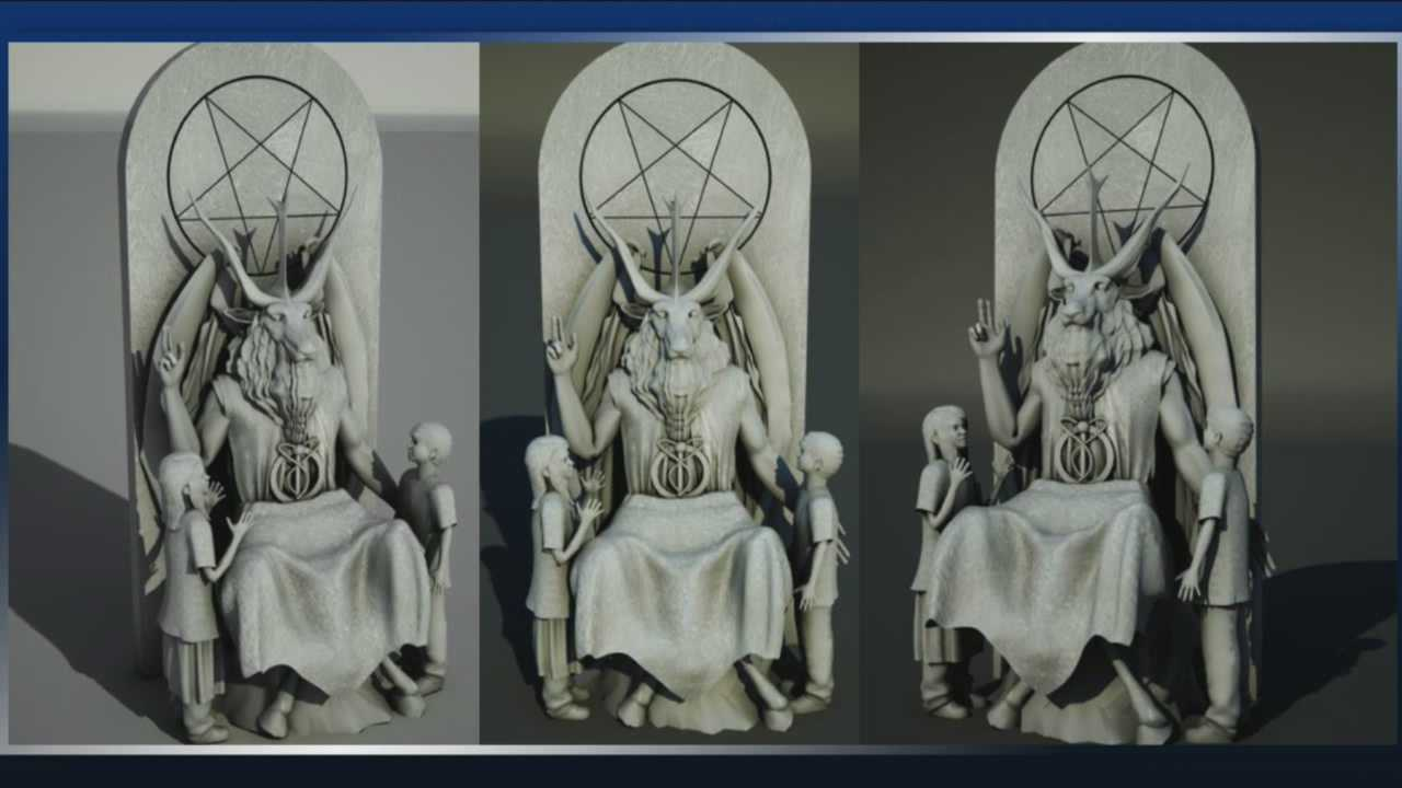 img-Group unveils design of Satan statue for Oklahoma State Capitol