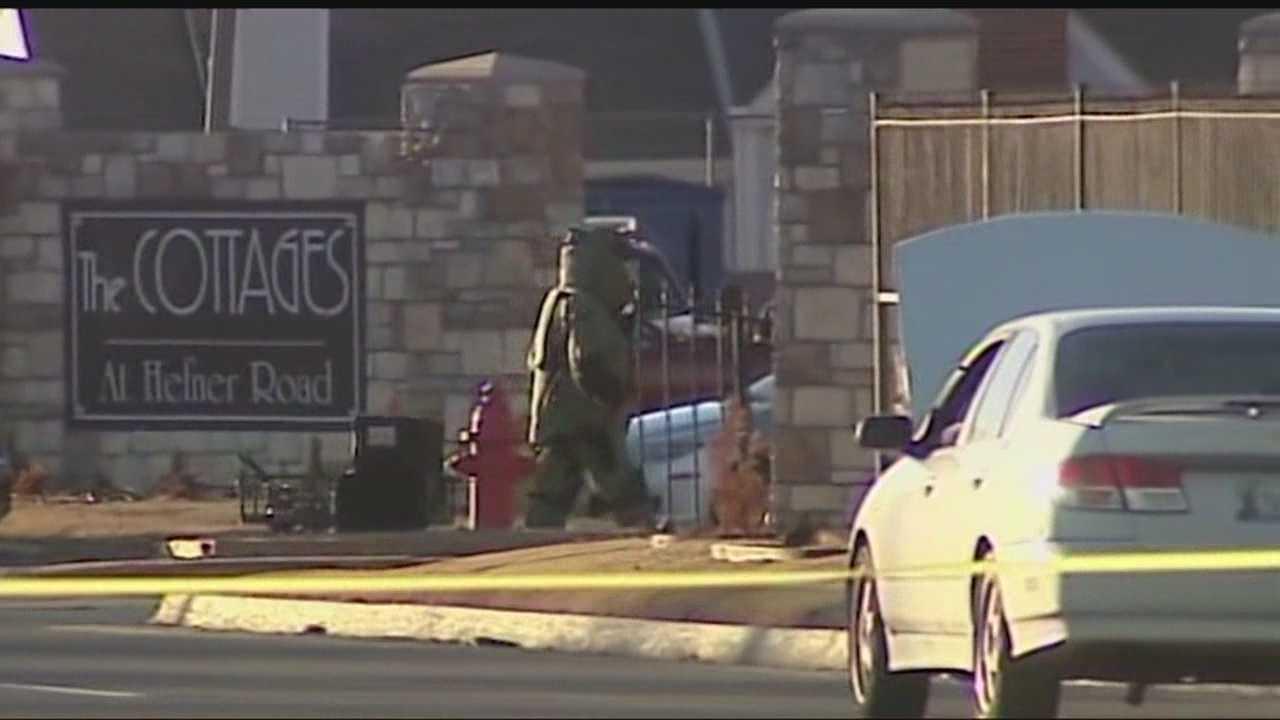 img-Explosive device found in car near Oklahoma City neighborhood