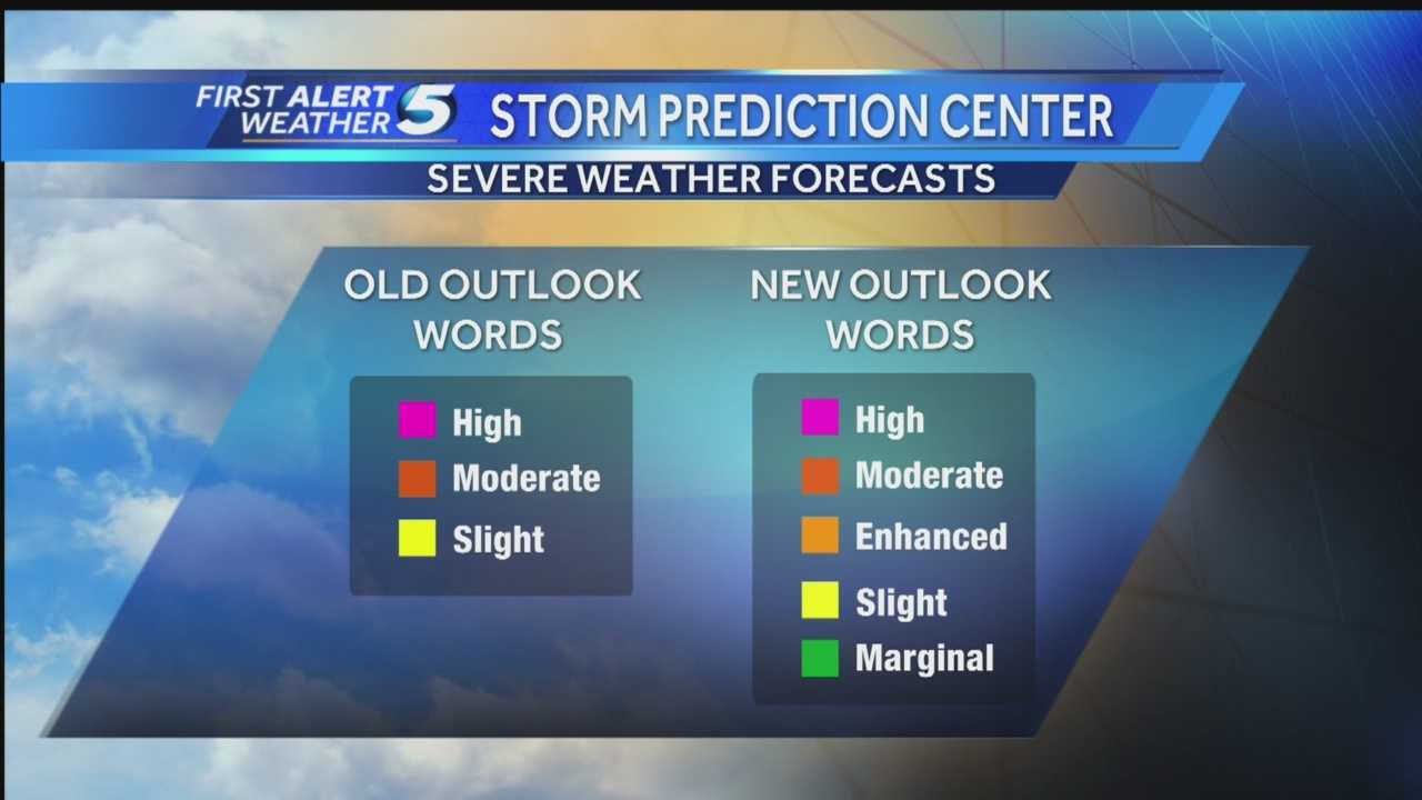 img-Storm Prediction Center adds new wording to severe weather risks