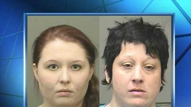 Left: Jayme Young, 18. Right: Tonya Young, 38.