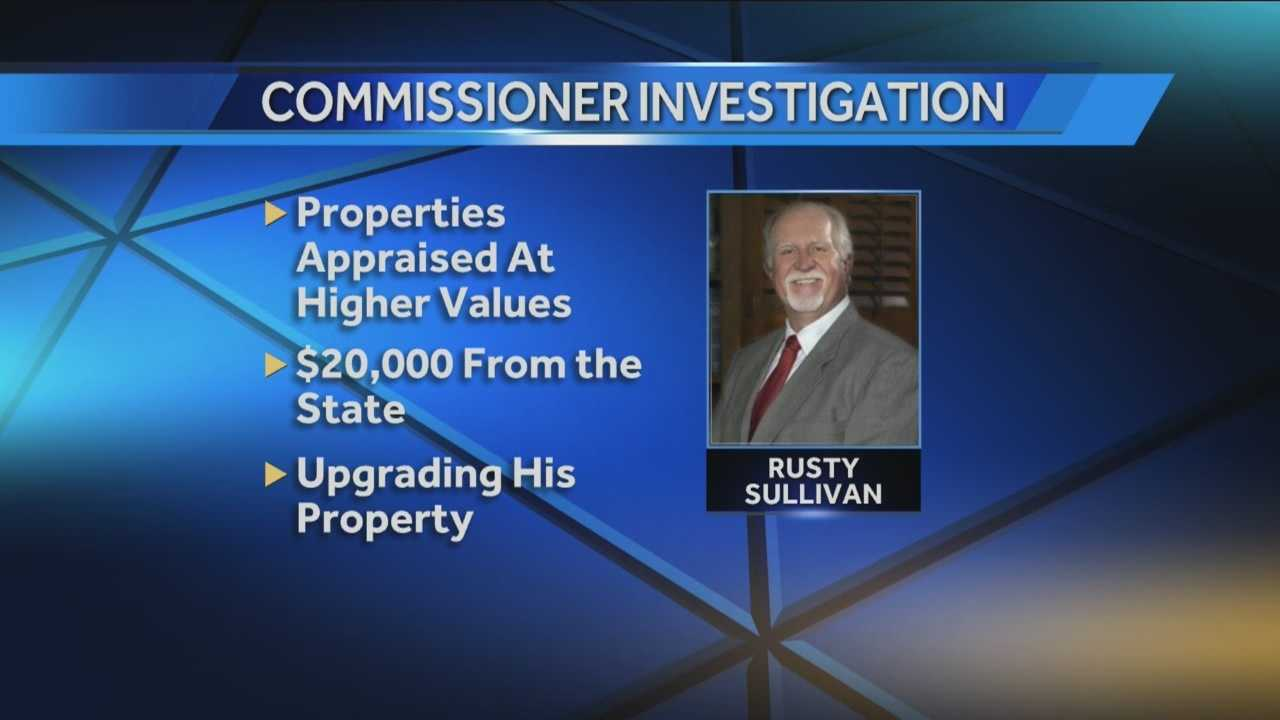 A Cleveland County Commissioner is reportedly under investigation.