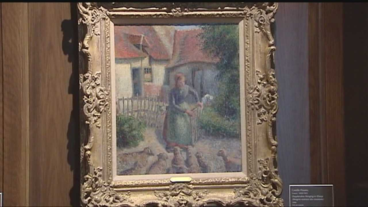 A French woman is claiming that a painting that was donated to the University of Oklahoma previously belonged to her father and was stolen during World War II.
