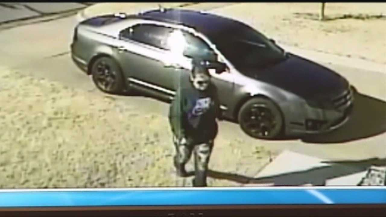 Surveillance cameras at a Southwest Oklahoma City home caught a woman stealing packages off a front porch. Now police want to find the woman.