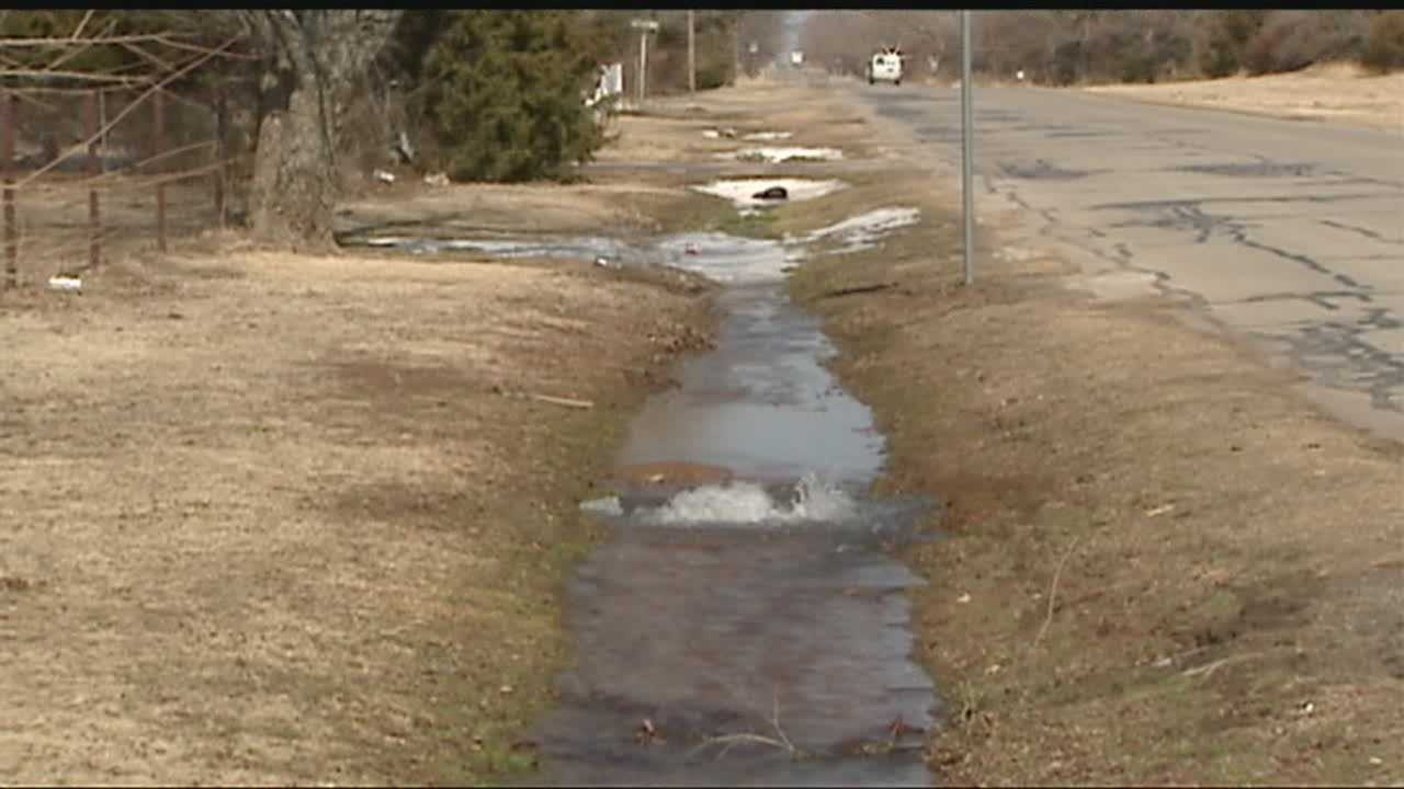 A cold February is contributing to the amount of water main breaks in Oklahoma City.