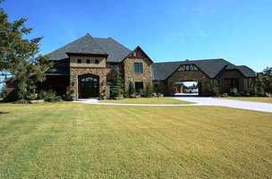 There are really some unique things inside this home built in 2012. The five bedrooms and 6.5 baths are spread over 7,500 square feet. For more information on this mansion in Edmond, click here.