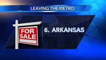 Since 2007, 642 people have moved to Arkansas, with 88 moving to Sebastian County, Ark.