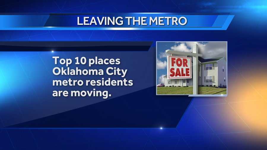 While 14,308 people moved around in the state of Oklahoma between 2007 and 2011, a large number of people left our state for other destinations. Here are the top 10 states people moved to when they left the Oklahoma City metro.